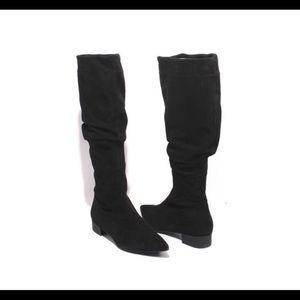 Gibillieri Tall Suede Boots 41